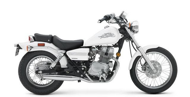 Honda Rebel 250 school bike